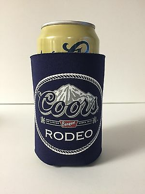 Coors Banquet Rodeo Beer Can / Bottle Koozie Cooler ~ One (1) ~ NEW & F/S ~ Rare