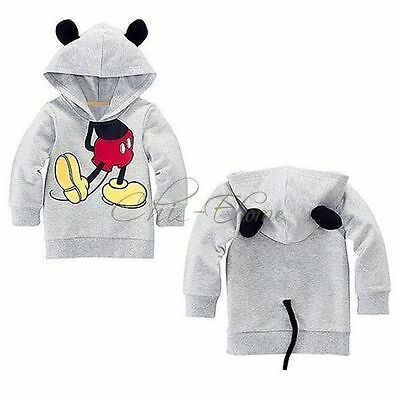 Mickey Hoodie Jumper with ears and tail (sizes available from 1-4 years)