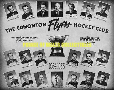 1954-55 Edmonton Flyers Team Photo 8X10