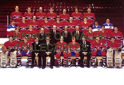 1985 Montreal Canadiens Team Photo 8X10