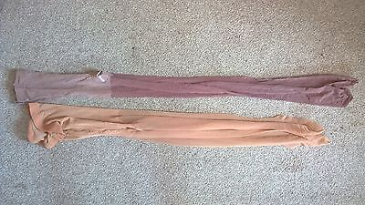 Ladies Two Pairs Sheer Tights Mixed Hose Bundle Gaia Taupe Size S/M