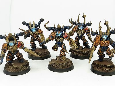 NIGHT LORDS POSSESSED SQUAD  -   Painted Warhammer 40K Chaos Space Marine Army