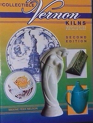 VERNON KILNS POTTERY PRICE GUIDE COLLECTORS BOOK Pitcher Plate Bowl +