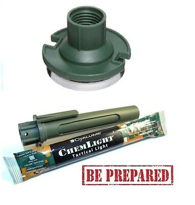 Light Stick Combat Light Shield Tubular +  Magnetic Cyalume Holder - Chemlight