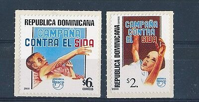 D130817 Medicine  Fight Against AIDS MNH Self Adhesive Dominica