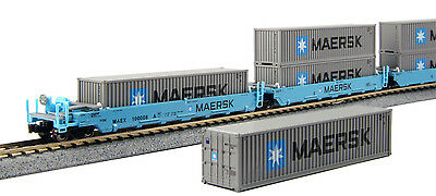 kato 106-6191 maxi-I double stack 5 unit set *maersk* 100010