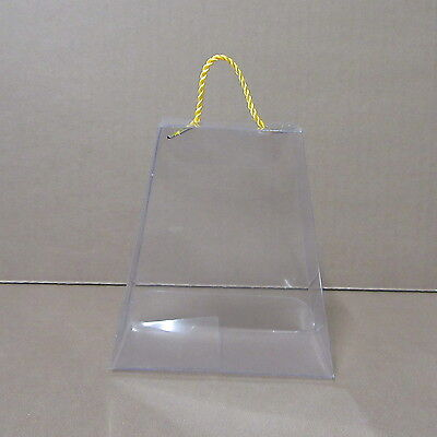 12 X PVC CLEAR DISPLAY BOXES gift boxes  JEWELLERY, SWEETS,.. CRAFTS PACKAGING.