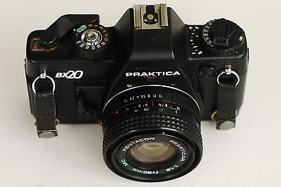 Praktica BX20 35mm SLR film camera with f1.8 Pentacon lens - Tested