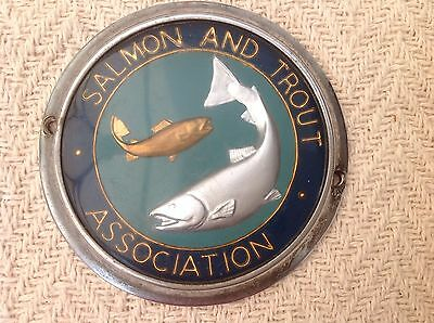 Fishing Club (Salmon And Trout Association) Car Badge