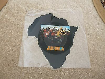 """Juluka - Scatterlings Of Africa - 7"""" Shape Pic Disc ."""