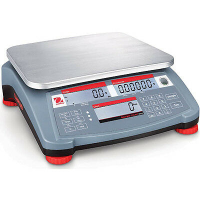 OHAUS RC31P30 Ranger Count 3000 Compact Bench Scale, 60 lb (30kg)