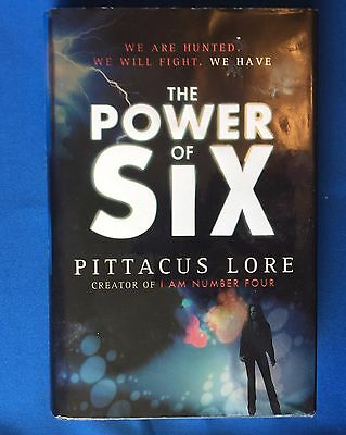The Power of Six by Pittacus Lore (Hardback, 2011) (POSSIBLE FIRST EDITION)