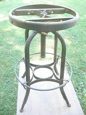 TOLEDO Industrial DRAFTING Swivel STOOL Parts- Needs SEAT