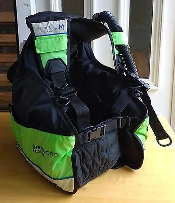 Sherwood Spirit Scuba Diving Buoyancy Jacket BCD - Size Medium