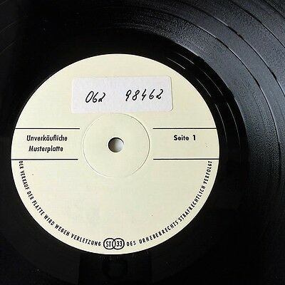 Showaddywaddy - White Label Test Pressing LP - Ultra Rare Rock And Roll Glam