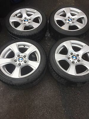 Bmw Alloys 17 With Winter Tyres X 6 225/45/17