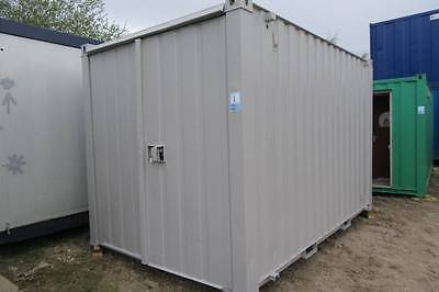12' x 8' Steel Anti-vandal Storage/Shipping Container.