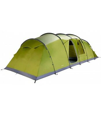 Vango Stanford 800XL Tent Package - 8 Person Tent, Footprint and Carpet