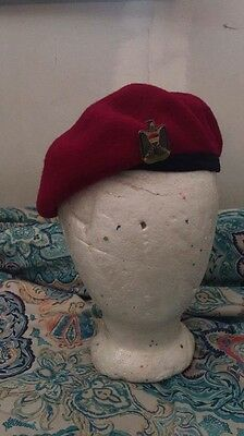 Iraq war iraq army red beret ( army navy usmc oef)