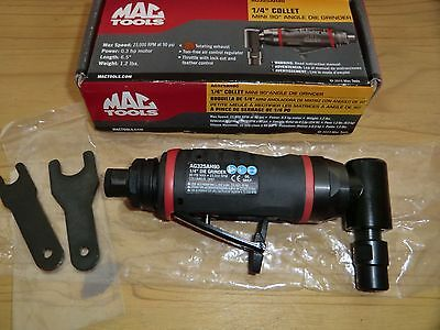 "Mac Tools AG325AH90  1/4""  Angle Head Air Die Grinder"
