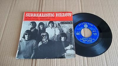"""JEFFERSON AIRPLANE """"Surrealistic Pillow"""" 45 7"""" EP 1967 RCA VICTOR Records FRENCH"""