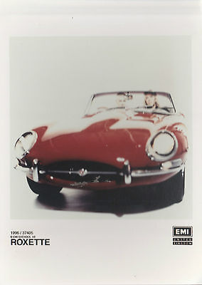 Roxette 1996 Uk Rare & 100% Official Full Colour Promotional Publicity Photo