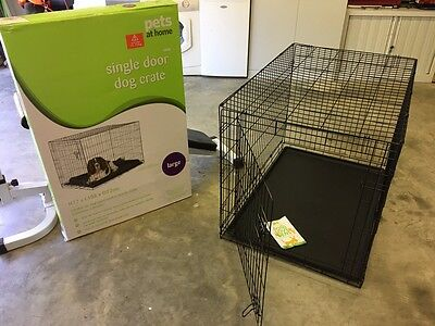 Large Dog Crate, Cage, Bed - Pets At Home, Hardly Used