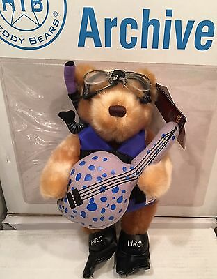 Hard Rock Cafe Hurghada Egypt Scuba Diver Teddy Bear Herrington Archive 2010