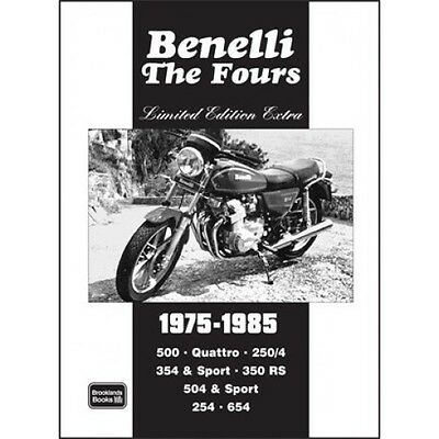Benelli the Fours Limited Edition Extra book paper motorcycles