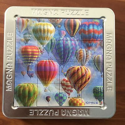 3D Magna Puzzle - Balloons - complete