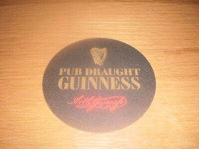 1 Guinness Brewery beer mat export cat 390