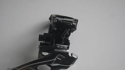 Shimano XT front mech double ring top pull