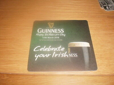 1 Guinness Brewery beer mat export cat 1576