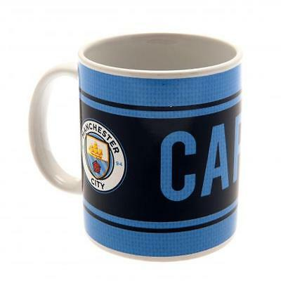Official Licensed Football Product Manchester City Mug Captain Cup Coffee New