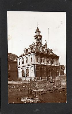 Postcard of early view of The Customs House Kings Lynn.