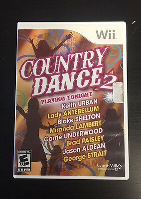 Country Dance 2 (Nintendo Wii) Complete
