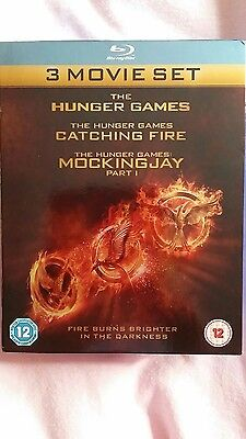 Hunger games box set ( blu ray, 3-disc box set )