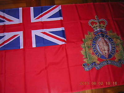 British Empire Flag Royal Canadian Mounted Police RCMP Pre 1965 Canada Ensign GB