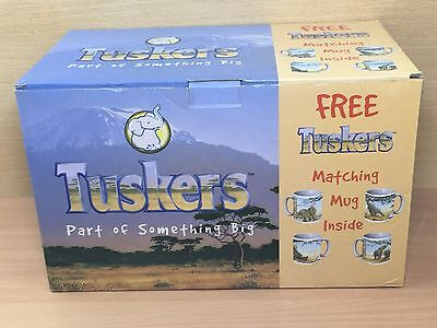 "Large Tuskers ""Splashin' Around"" + Mug - Boxed Set - Never Displayed - 90945"