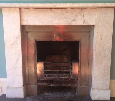 Georgian Fire and Carrera Marble Surround