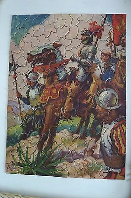 Vintage US 1930's Every Week Jigsaw Puzzle Series (No. 19 - The Conquerers)