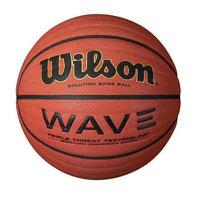 Wilson Wave Solution Game Ball Basketball - Size 7 - RRP: £65.00