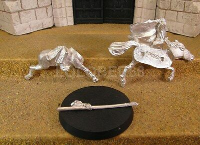 GANDALF THE WHITE ON SHADOWFAX - Lord Of The Rings Metal Figure(s)