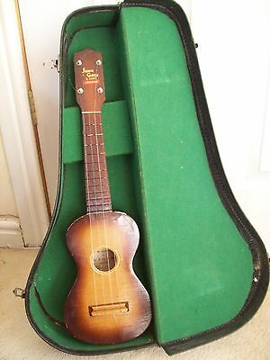 Vintage John Grey & Sons London Cased Ukulele