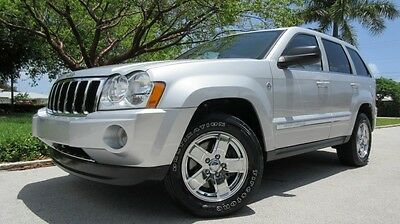 2007 Jeep Grand Cherokee 4 Dr 2007 JEEP GRAND CHEROKEE LIMITED 4X4 TRAIL RATED, SUNROOF, HEATED LEATHER, CDC