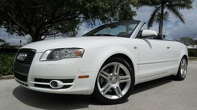 2008 Audi A4 2Dr 2008 AUDI A4 CABRIOLET FROM FL, AUDI SHYMPHONY AUDIO, CDC/SAT, NICE COLOR COMBO!