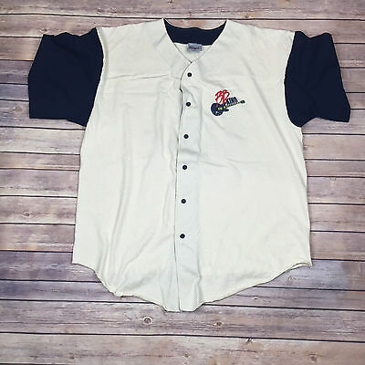B.B. King Vintage 99 Jersey 2XL Rare HTF Button Down Cotton Made in USA