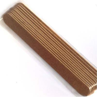 Edge Nails Professional Nail Files - Emery Boards (Pack of 10)