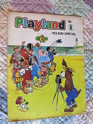 Playland comic Holiday Special 1972