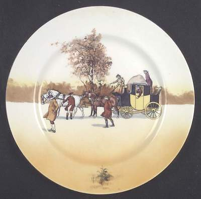 Royal Doulton COACHING DAYS (BONE) Dinner Plate 7046749